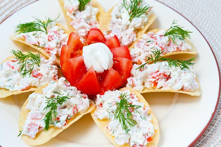 Crab During Pregnancy - Crab And Shrimp Nachos