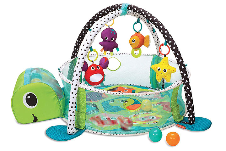 Infantino 3-in-1 Grow with me Activity Gym and Ball Pit 51030