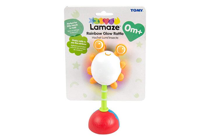 Lamaze Rainbow Glow Rattle 5262