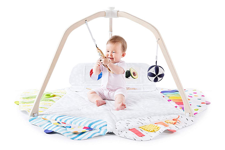 Lovevery The Play Gym Stage-Based Developmental Activity Gym & Play Mat for Baby to Toddler 6574