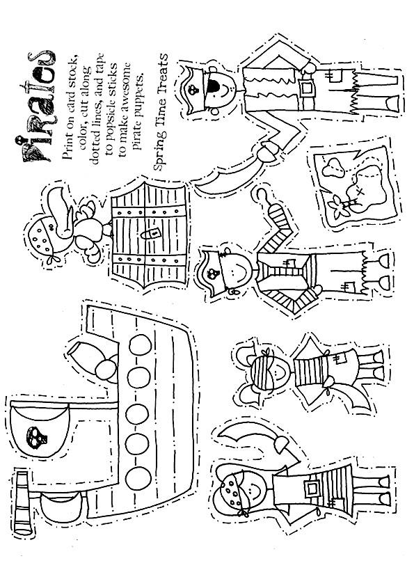 Pirate-Puppets