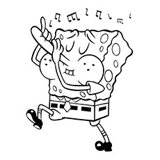SpongeBob-Playing-Flute-With-His-Nose