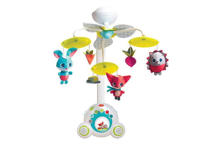 Tiny Love Meadow Days Soothe 'n Groove Baby Mobile 41267