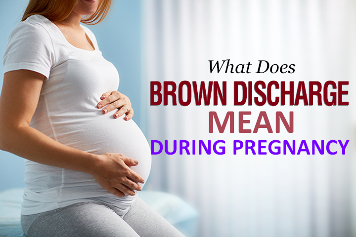 Is It Normal To Have Brown Discharge During Pregnancy?