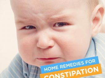 Constipation In Babies: Signs, Causes And Effective Home Remedies