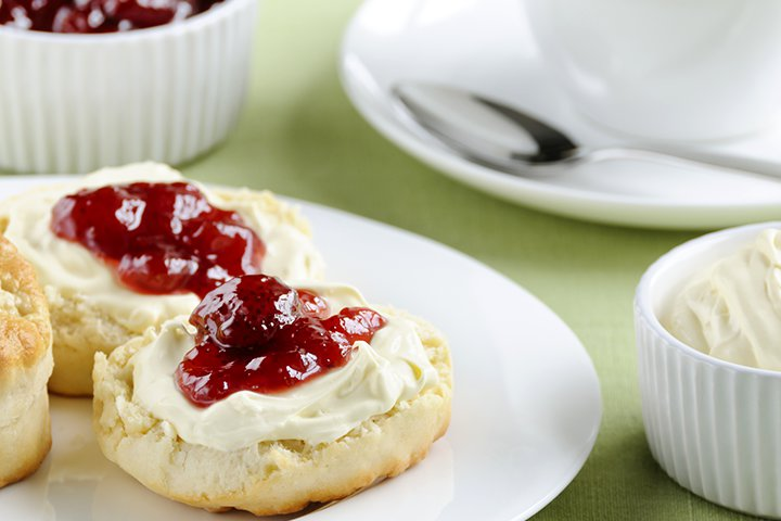 Cream Scones Recipes for Baby Shower Party