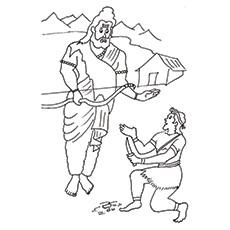 Eklavya-And-Dronacharya