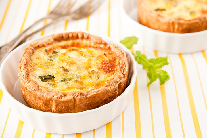 Baby Shower Recipes - French Onion Quiche