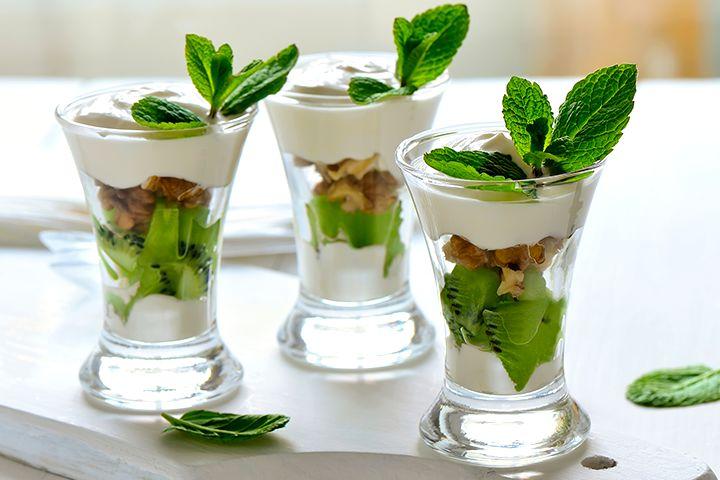 Baby Shower Kiwi Yogurt Cups Recipes