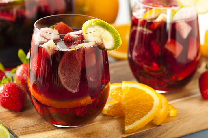 Baby Shower Sangria Recipes for Party