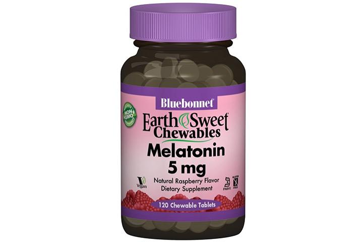 Bluebonnet Melatonin Chewable Tablets
