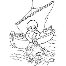 Child-Catching-Fish