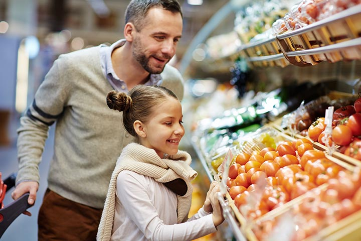 Grab-the-grocery scavenger hunt