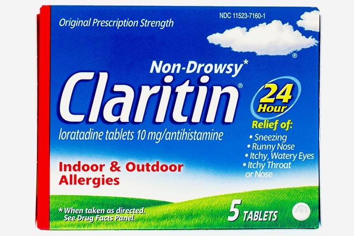 Is It Safe To Take Claritin (Loratadine) While Breastfeeding