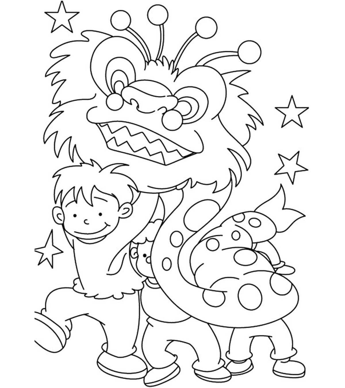 - Top 15 Chinese New Year Coloring Pages For Toddler