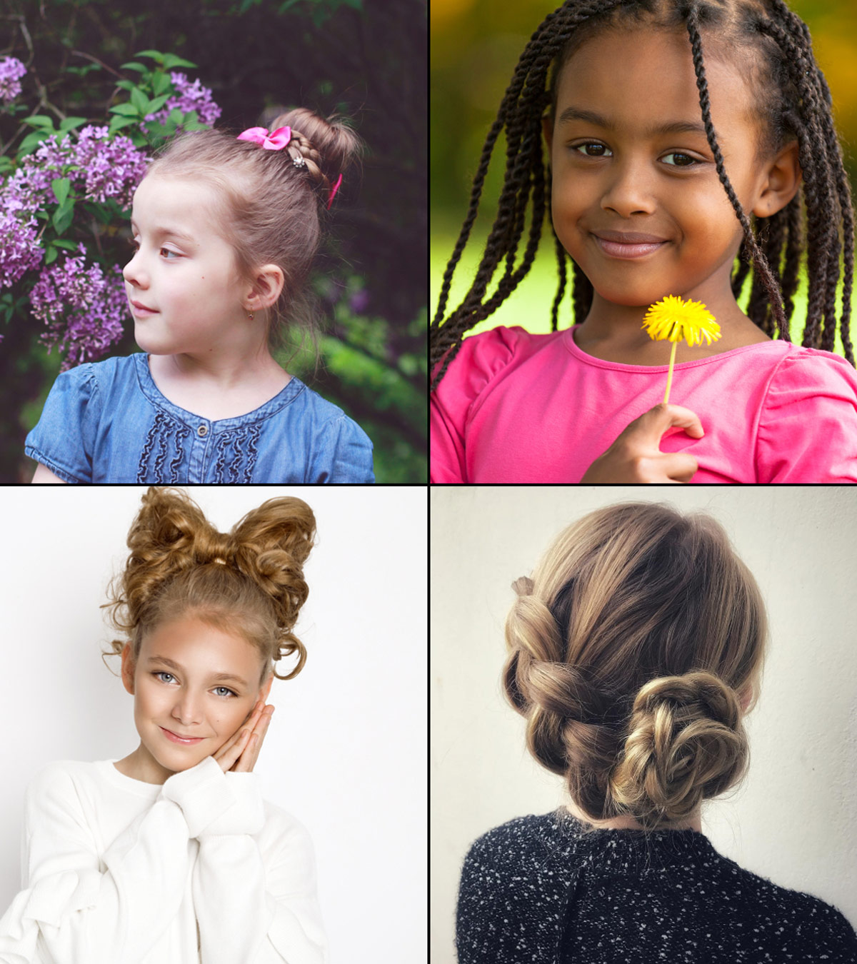 Fine 19 Super Easy Hairstyles For Girls Natural Hairstyles Runnerswayorg