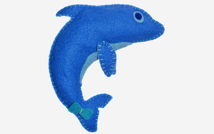 Dolphin Crafts - Fabric Dolphin