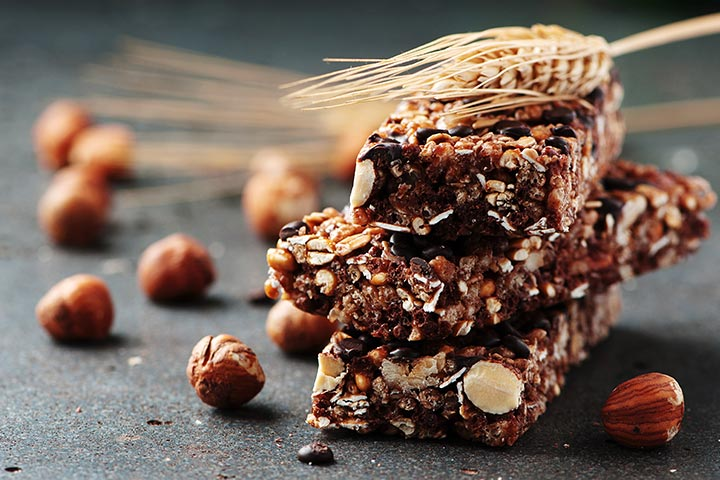 Recipes For Breastfeeding Moms - Fruit And Nut Energy Bars