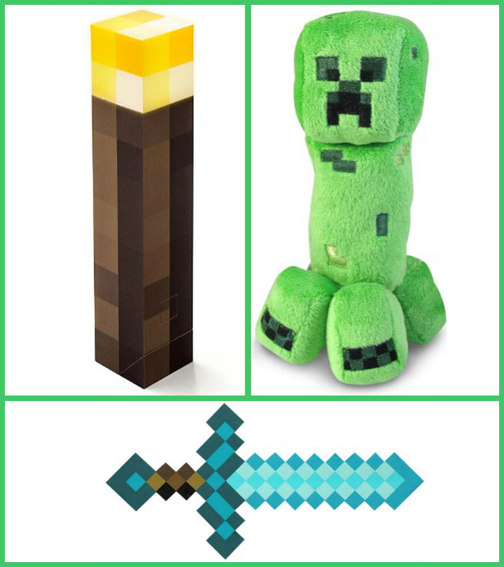 Top 10 Minecraft Toys For Kids