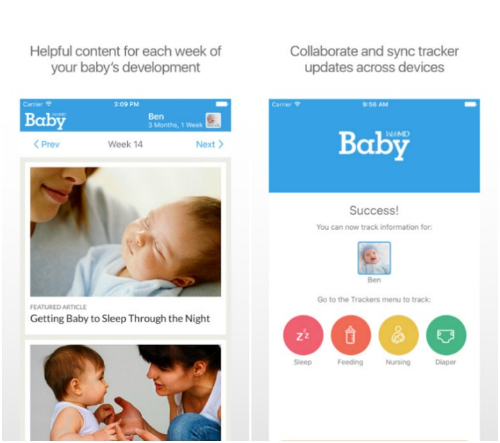 WebMD Baby - Apps for Babies