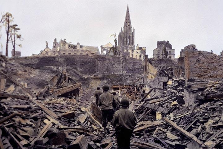 The massacre of World War II