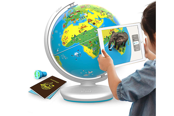 25. ShifuOrboot Augmented Reality Interactive Globe for Kids