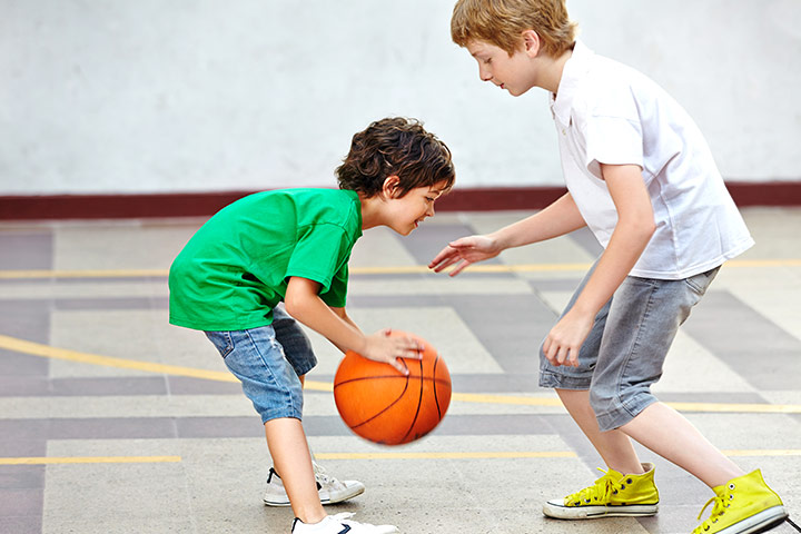 Best Sports For Kids - Basketball