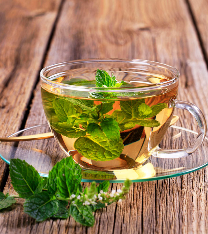 peppermint or ginger tea for upset stomach