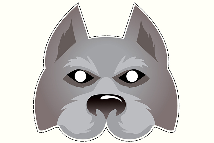 image relating to Wolf Mask Printable called Supreme 7 Wolf Craft Options For Small children