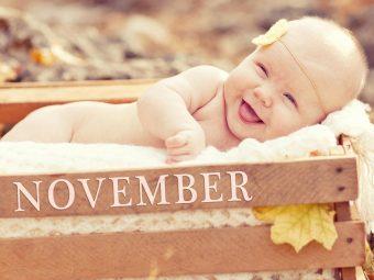 21 Wonderful Names For November Borns