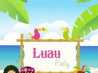 16 Joyous Luau (Hawaiian) Party Ideas For Kids