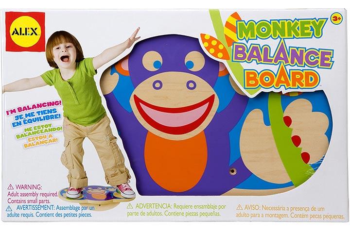 ALEX Toys Active Play Monkey Balance Board