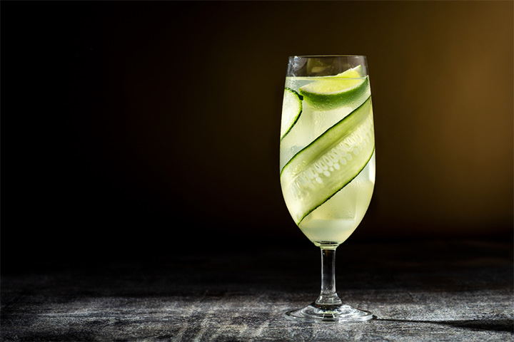 Cucumber And Lime Cordial