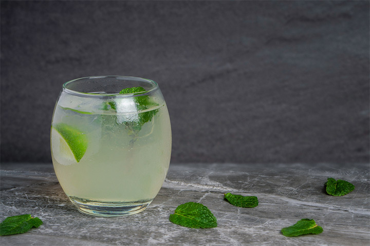 Refreshing Mint Cordial