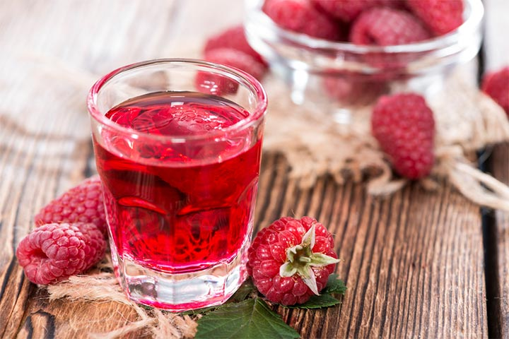 Sweet And Tangy Raspberry Cordial