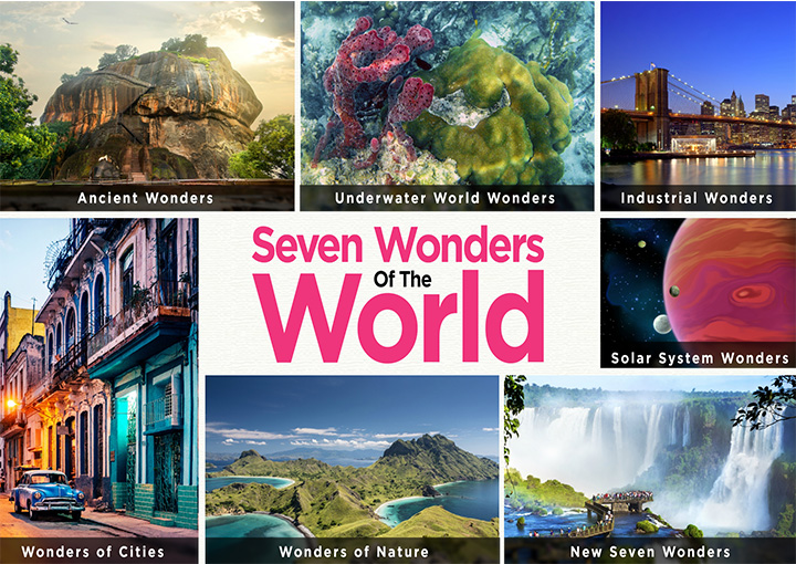 Seven Wonders Of The World For Kids