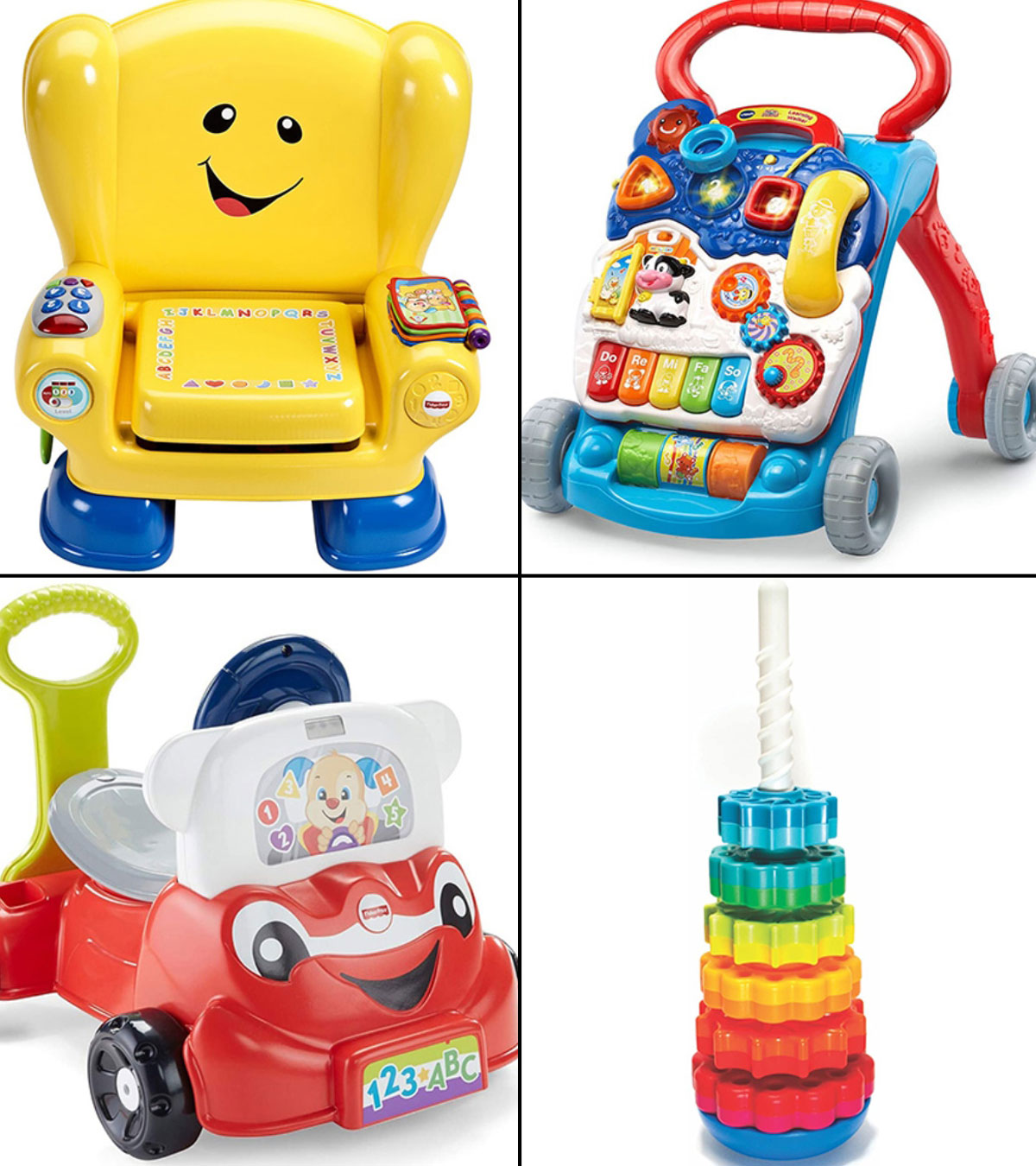 Early Education 6 Months Olds Baby Toy Learning Machine Toy with Lights and FAST