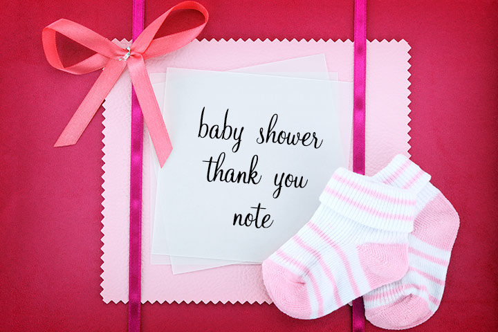 Baby Shower Thank You Notes How To Write And What To Write With