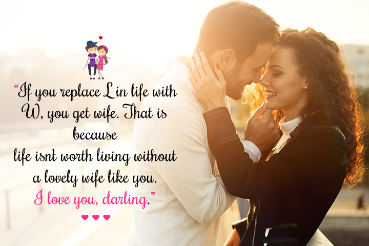 Romantic Love Messages for my Wife