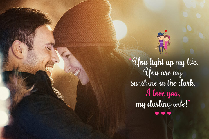 Romantic Lines for Wife