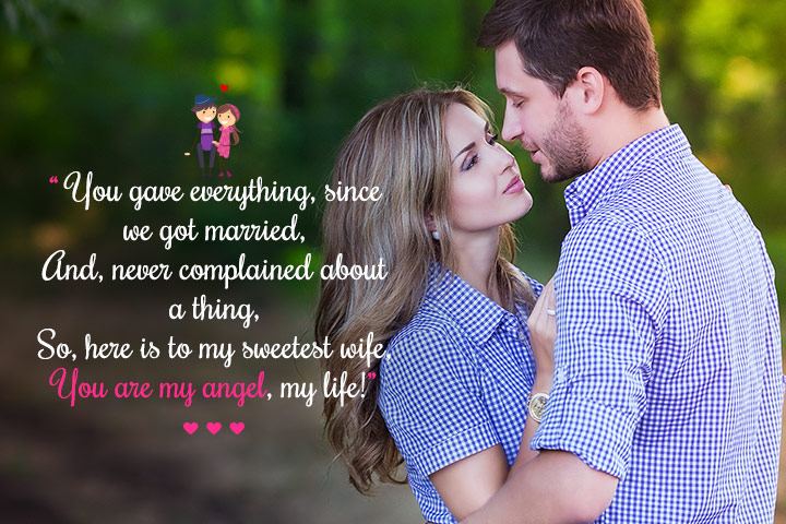 Love Romantic Messages for Wife