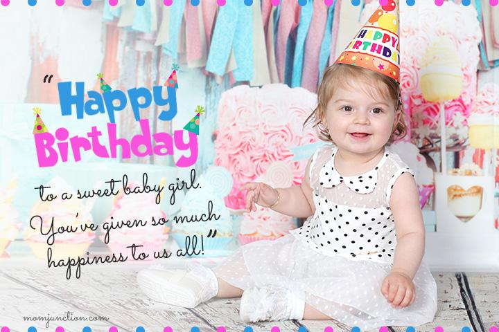 Happy 1st Birthday to my Sweet Baby Girl