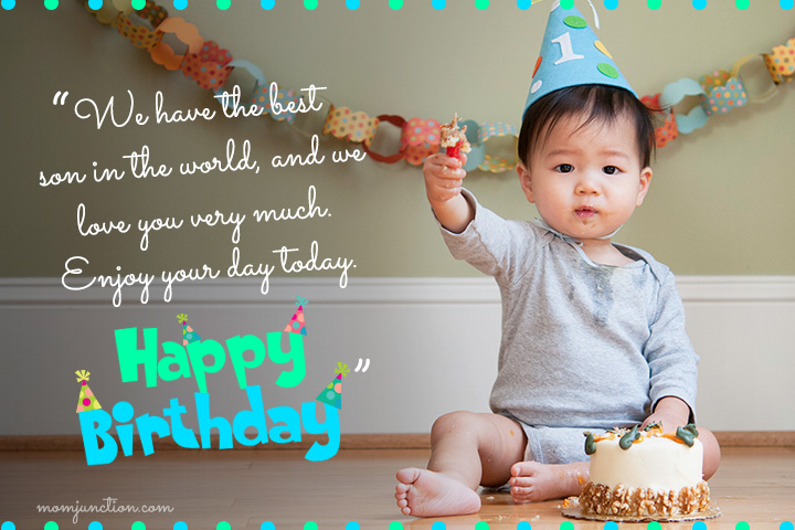 Happy 1st Birthday Wishes For Son