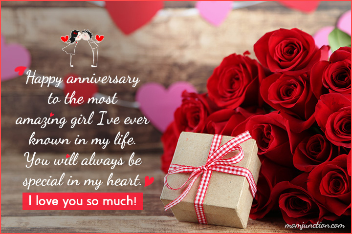 Wedding Anniversary Card Wishes for Wife