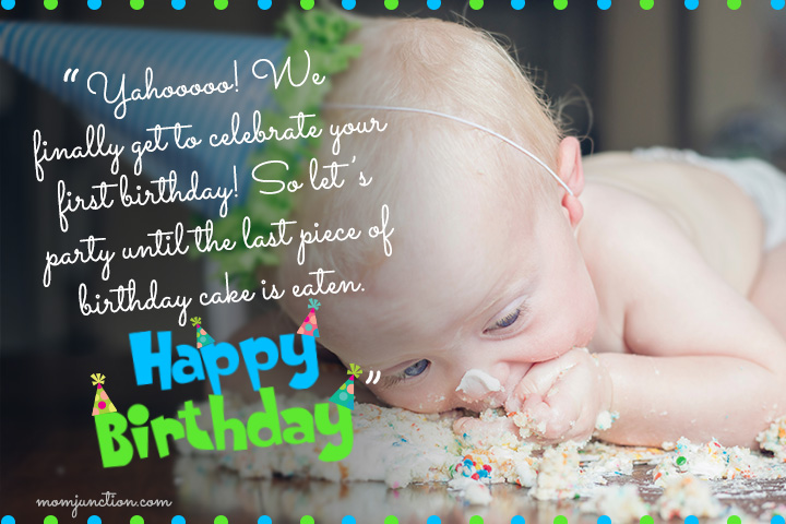 Funny First Birthday Wishes