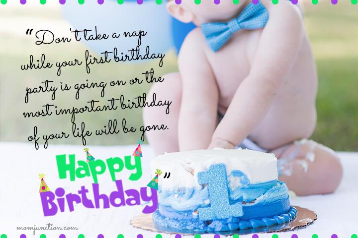 Funny 1st Birthday Wishes