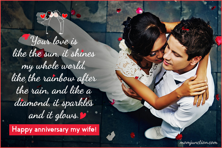 Happy Anniversary Wishes to My Wife