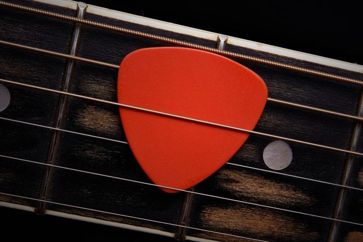 Customized guitar pick