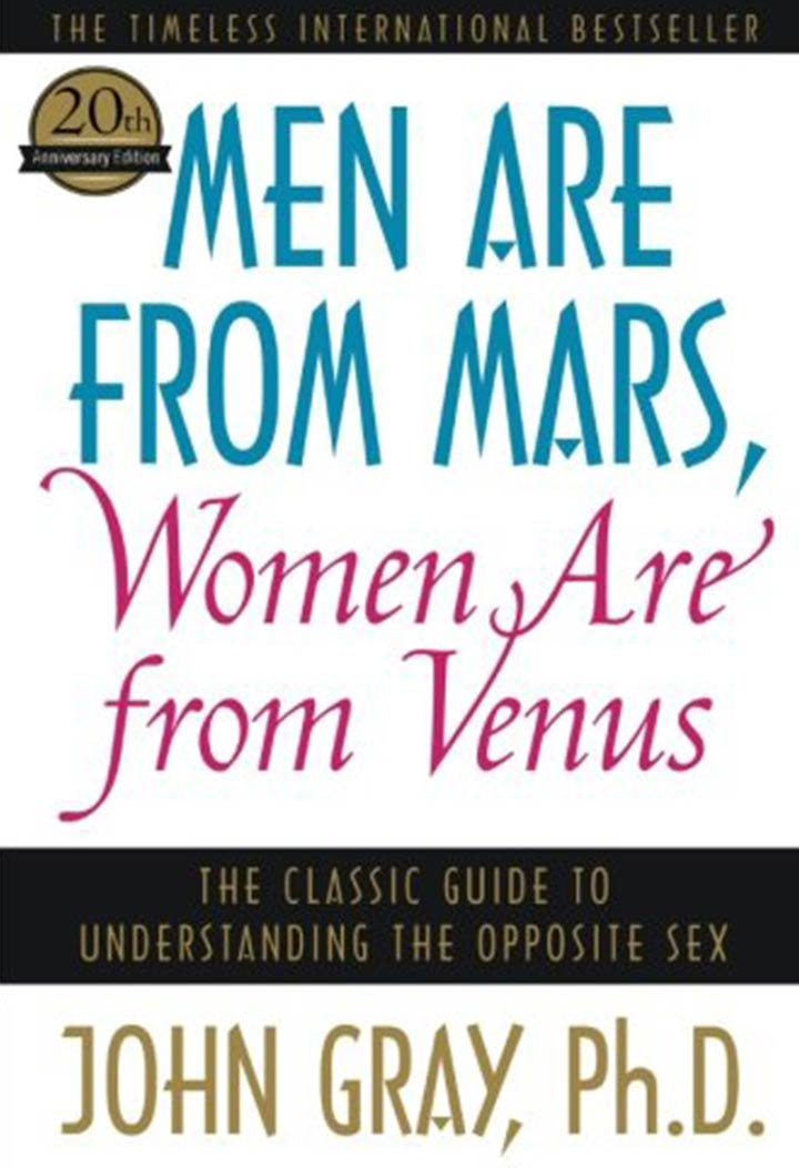 Men Are From Mars, Women Are From Venus by John Gray - Relationship book