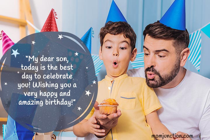 Birthday wishes for son from father